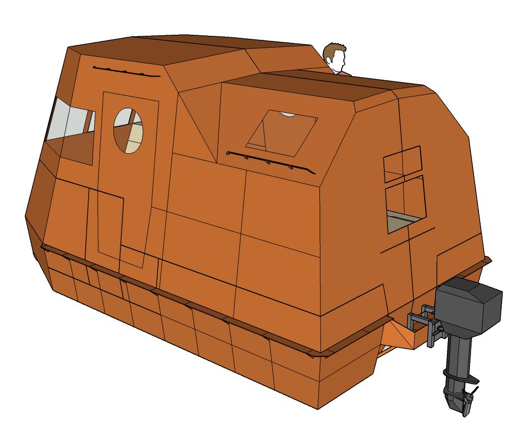 outboard-rear