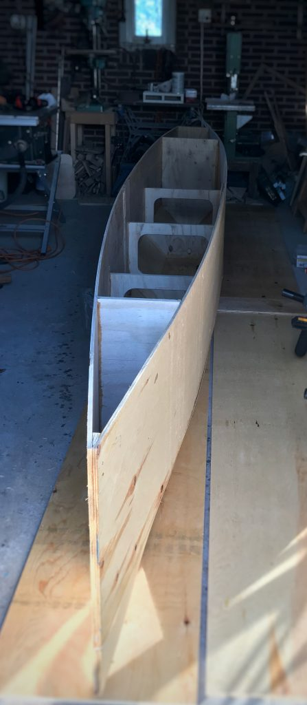 My Tiny House Boat A Small Plywood And Epoxy Not Really